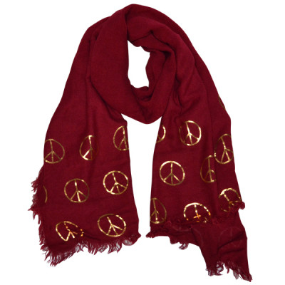 Scarf Sat -red-