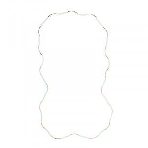 Necklace Chantal -green-
