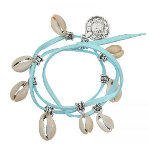 Bracelet Shells on String