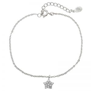 Armband Tiny Silver Shiny Star