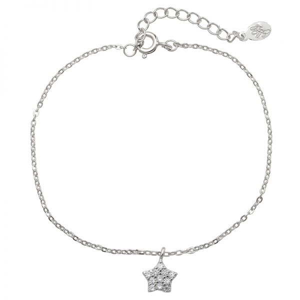 Bracelet Tiny Silver Shiny Star