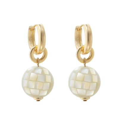 Earrings Disco Pearl