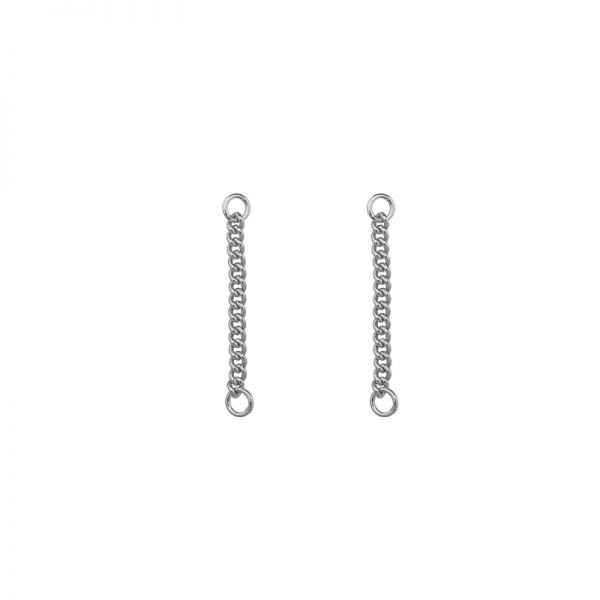 Earrings loose chain