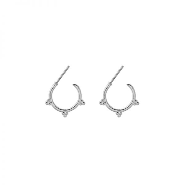 Earrings Round Dots