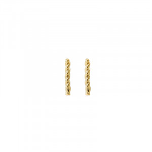 Earstuds Twisted Stripe