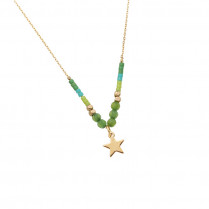 Necklace Beads & Star