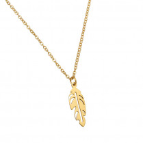 Necklace Beautiful Feather
