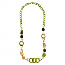 Ketting Colored Stones
