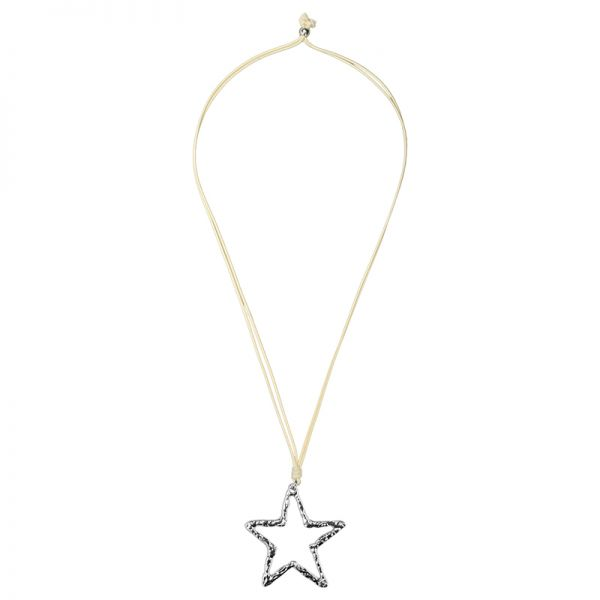 Necklace Metal Star