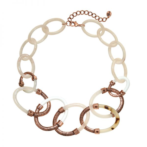 Necklace Statement Circles
