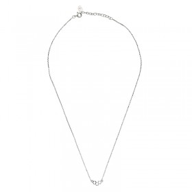 Collier Tiny Silver Corner Rounds
