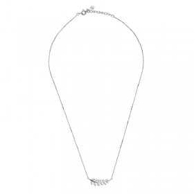 Collier Tiny Silver Leaf