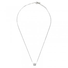 Collier Tiny Silver Tube