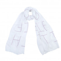 Scarf Dotted Letters