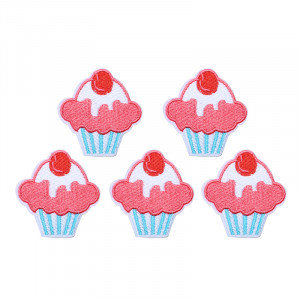 Jeans Patch Cupcake