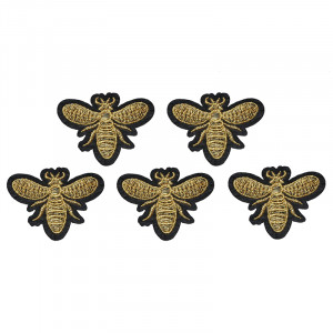 Jeans Patch Golden Bee