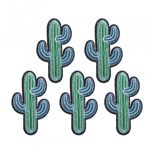 Jeans Patch Green Cactus