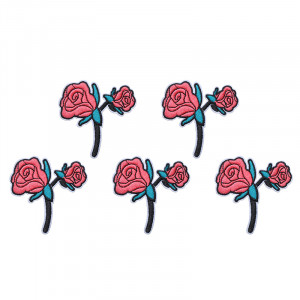 Jeans Patch Pink Rose