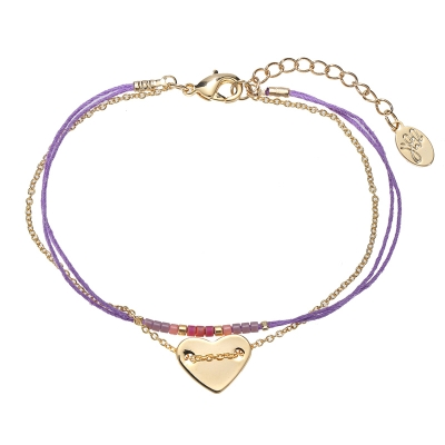 Bracelet Love on String