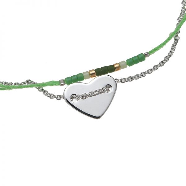 Armband Love on String