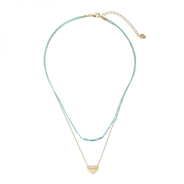 Collier Love on String