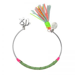 Bracelet colourful tassel