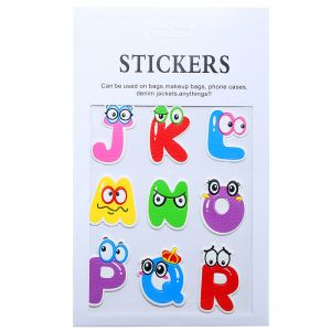 Stickers Alphabet J - R