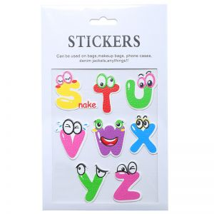Stickers Alphabet S-Z
