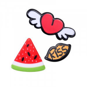 Pins Flying Heart