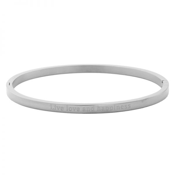 Bracelet 'Live Love and Happiness'