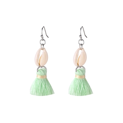 Ohrringe Shell & Tassel