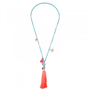 Ketting Turquoise and Tassels