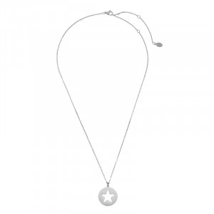 Ketting Long See Through Star