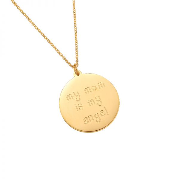 Necklace My Mom is My Angel