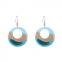 Earrings Abstract Circle