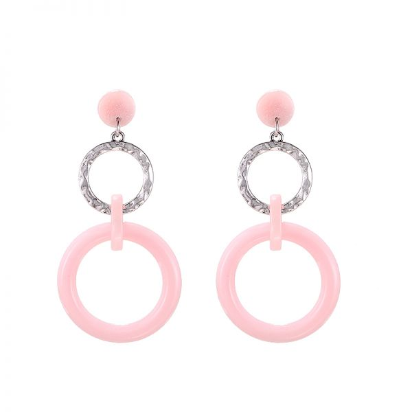 Earrings Circle Circus