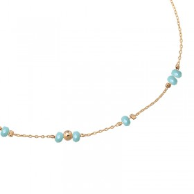 Ankle Strap Tiny Beads