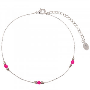 Ankle Strap Tiny Beads & Beads