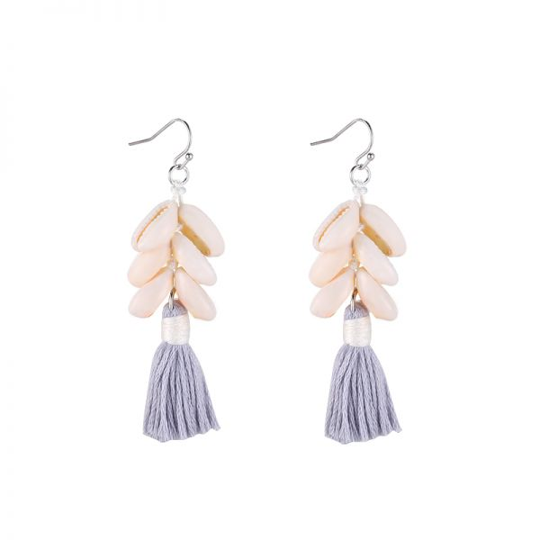 Earrings happy shells