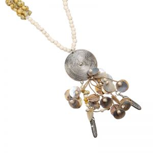 Necklace shell amulet