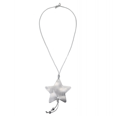 Necklace Silver Big Star
