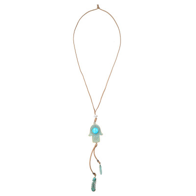 Necklace Turquoise Hand