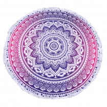 Beach Towel Purple Dream