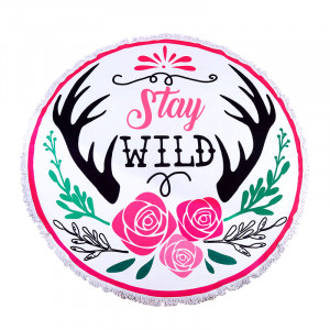 Beach Towel Stay Wild