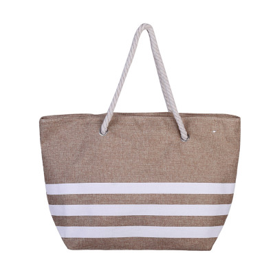 Beach Bag Three Lines