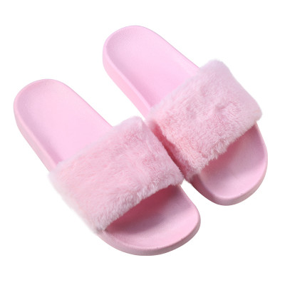 Slippers Fake Fur