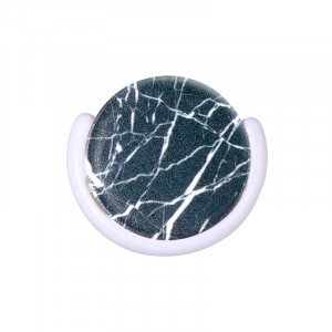 Smartphone Finger Grip Black Marble