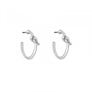Earrings Little Hoop & Knot