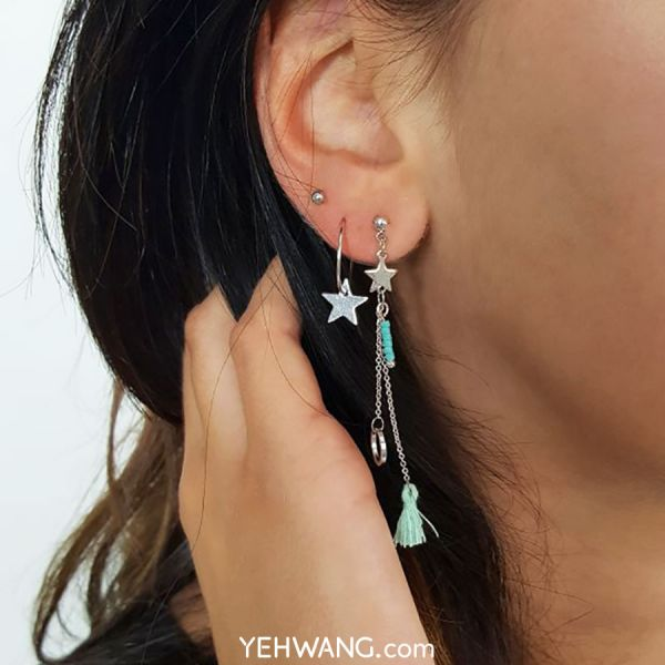 Earrings Star Parade