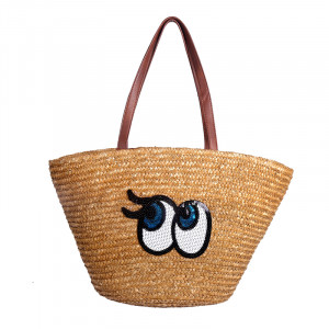 Beach Bag Fancy Eyes